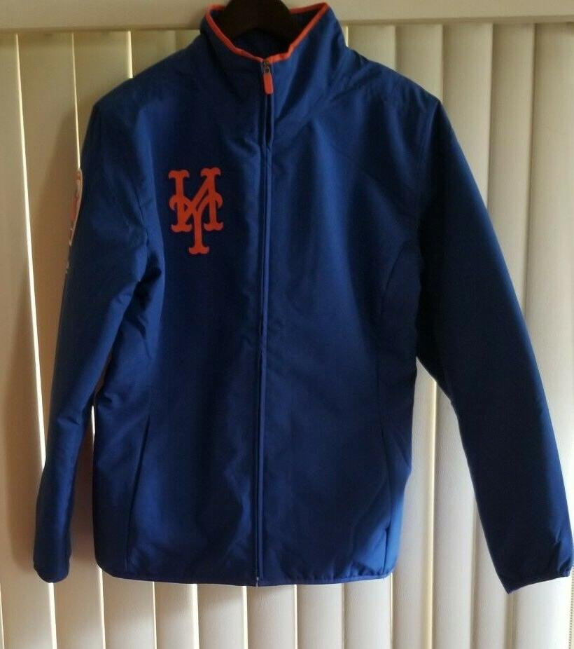 New York Therma Full-Zip Jacket Royal Sz S