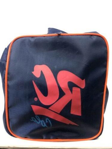 VTG New York Mets RC Cola Duffle Bag Royal Crown Shea Stadium Giveaway