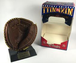 LA Dodgers New York Mets Mike Piazza Rawlings Mini Mitt Glov