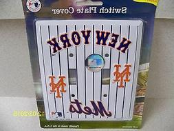MLB licensed New York Mets pinstripe baseball double light s