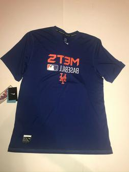 Nike Men's New York Mets Royal Authentic Collection Legend T