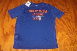 Men's NEW YORK METS Under Armour UA Heatgear T-Shirt Size La