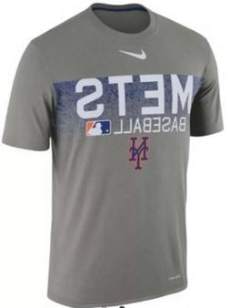 Nike Men's New York Mets Dri Fit AC Team Issue Jersey Shir