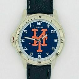 Mens New York Mets MLB Mens Classic Sparo Sports Watch Free