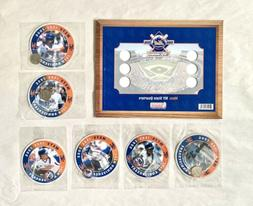 METS NY State Quarters 20th Anniversary 1986-2006 Dunkin Don