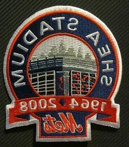 Mets patch NY New York Mets  Shea Stadium  jersey sleeve pat
