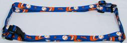 Hunter MFG 1-Inch New York Mets Adjustable Harness, Large