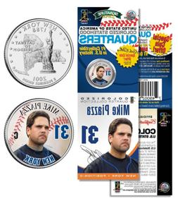 MIKE PIAZZA NY Mets PROMO New York State Quarter Coin & Card