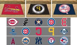 MLB Allstar Mat Area Rugs Choose Your Team
