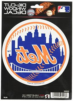 "MLB Mets New York Medium Die Cut Decal, 9"" x 5"" x 0.2"", Team"