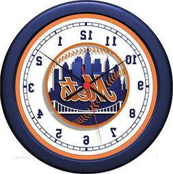 "MLB New York Mets 10"" Wall Clock"