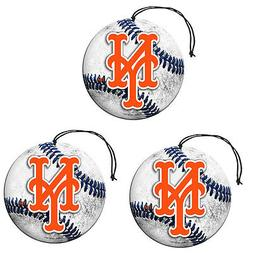 MLB New York Mets Auto Air Freshener, 3-Pack