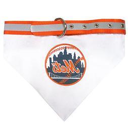 Pets First MLB New York Mets Pet Bandana, Medium