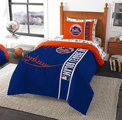 "MLB New York Mets ""Soft and Cozy"" Bed in a Bag Twin Comforte"
