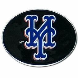 MLB NEW YORK METS BELT BUCKLE FULLY CAST METAL BUCKLE
