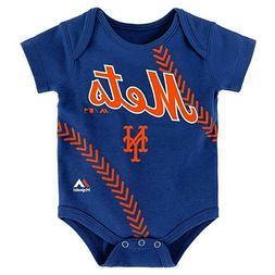 "MLB  New York Mets ""Fanatic"" Football Creeper Blue"