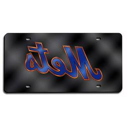 MLB New York Mets Laser-Cut Auto Tag
