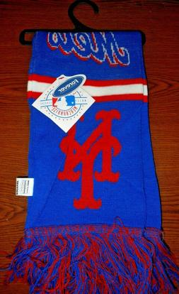 FOREVER COLLECTIBLES MLB NEW YORK METS LICENSED SCARF NEW WI