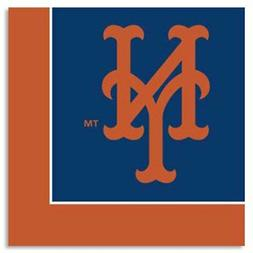 MLB NEW YORK METS LUNCH NAPKINS  ~ Birthday Party Supplies S