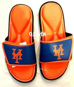 MLB New York Mets Men's Deluxe Foam Sport Slide Sandals