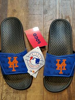 MLB New York METS MLB Logo Youth M 13-1 Sandals - Beach Comf
