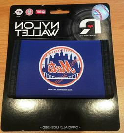 MLB New York Mets Rico Products MLB Nylon Wallet New York Me