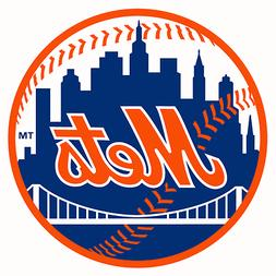 MLB New York Mets Round Magnet