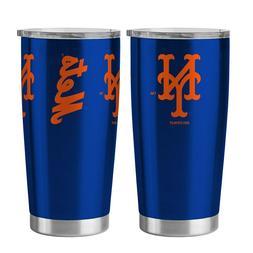 MLB New York Mets Travel Tumbler 20oz Ultra Blue Boelter Bra