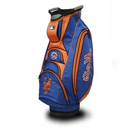 Team Golf MLB New York Mets Victory Golf Cart Bag, 10-way To