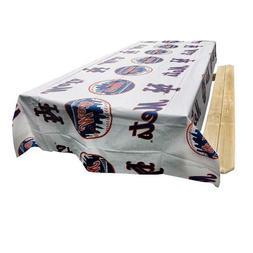 "MLB New York Mets Vinyl Banquet Table Cloth 54"" x 108"" by Ri"