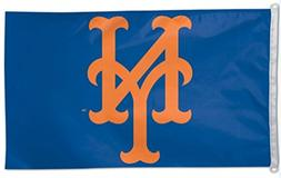 MLB New York Mets WCR79712010 Team Flag, 3' x 5'