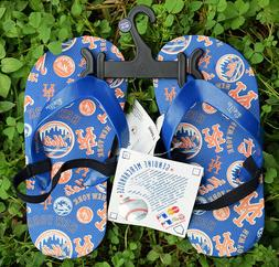 MLB New York Mets Youth Toddler Sandals Size 10-11 Flip Flop