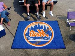 FANMATS MLB New York Mets Nylon Face Tailgater Rug