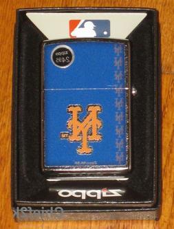 Zippo MLB New York Mets, Street Chrome 29117