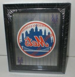 MLB NY METS Collectible Sports Memorabilia Glass Hanging Mir