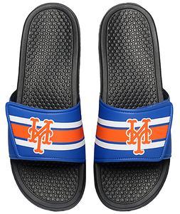 MLB New York Mets Team Logo YOUTH Legacy Shower Slide Flip F