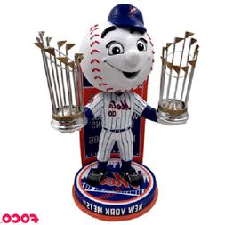 Mr. Met New York Mets Mascot World Series Champions Bobblehe