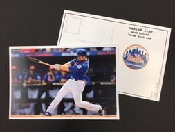 Neil Walker New York Mets 2017 Major League Baseball 4x6 Pos