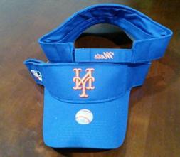 New Adult MLB New York Mets Sun Visor Cap Hat! -PMJS