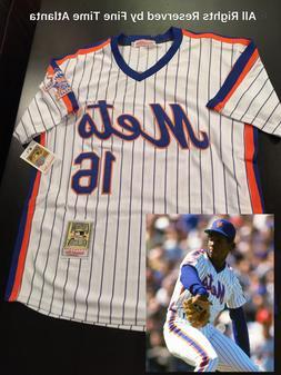 NEW Dwight Doc Gooden New York Mets Men's M&N 1986 HOME RETR