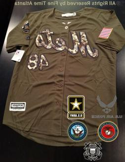 NEW Jacob deGrom New York Mets Men's Salute to Service Milit