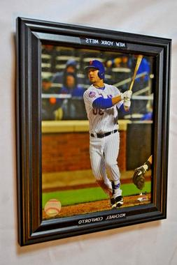 NEW New York Mets Michael Conforto Action Wall Photo Picture