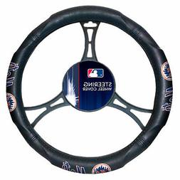 New MLB New York Mets Synthetic Leather Car Truck Steering W