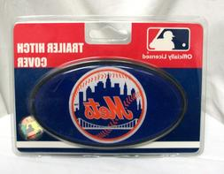 NEW MLB OFFICIALLY LICENSED NEW YORK METS TRAILER HITCH COVE