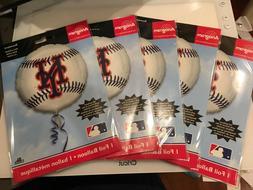 NEW Anagram International New York Mets  Balloon 18 inch foi