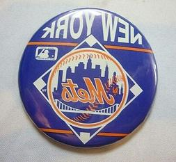 NEW New York Mets Button Pin Souvenir MLB Baseball Multi-Col