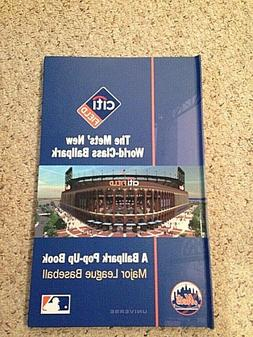 NEW - New York Mets Citi Field BALLPARK  POP UP BOOK  MAJOR