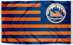 NEW New York Mets MLB Official 3x5 Indoor Outdoor Flag Banne