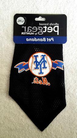 NEW New York Mets Pet Bandana, Petgear, L/XL, MLB