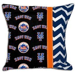 NEW NY New York Mets MLB Baseball Decorative Throw Pillow
